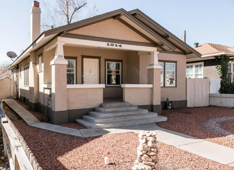 Gated property for sale at 1014 Lomas Boulevard NW, Downtown Albuquerque New Mexico 87102